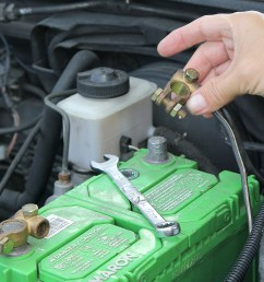 how to change an alternator with pictures wikihow ford alternator wiring schematic ford probe [ 3026 x 2017 Pixel ]