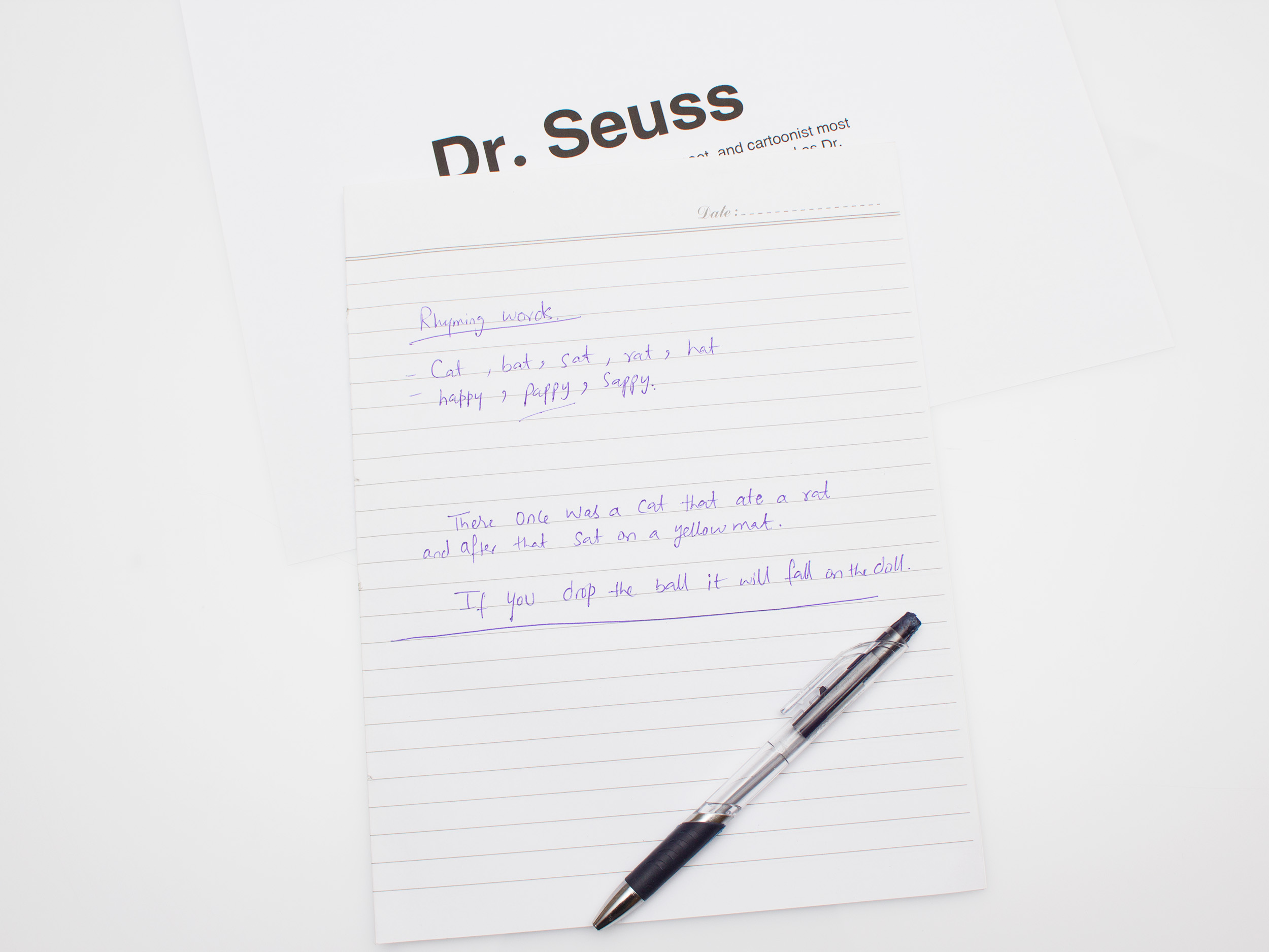 How to Write Like Dr. Seuss: 4 Steps (with Pictures)