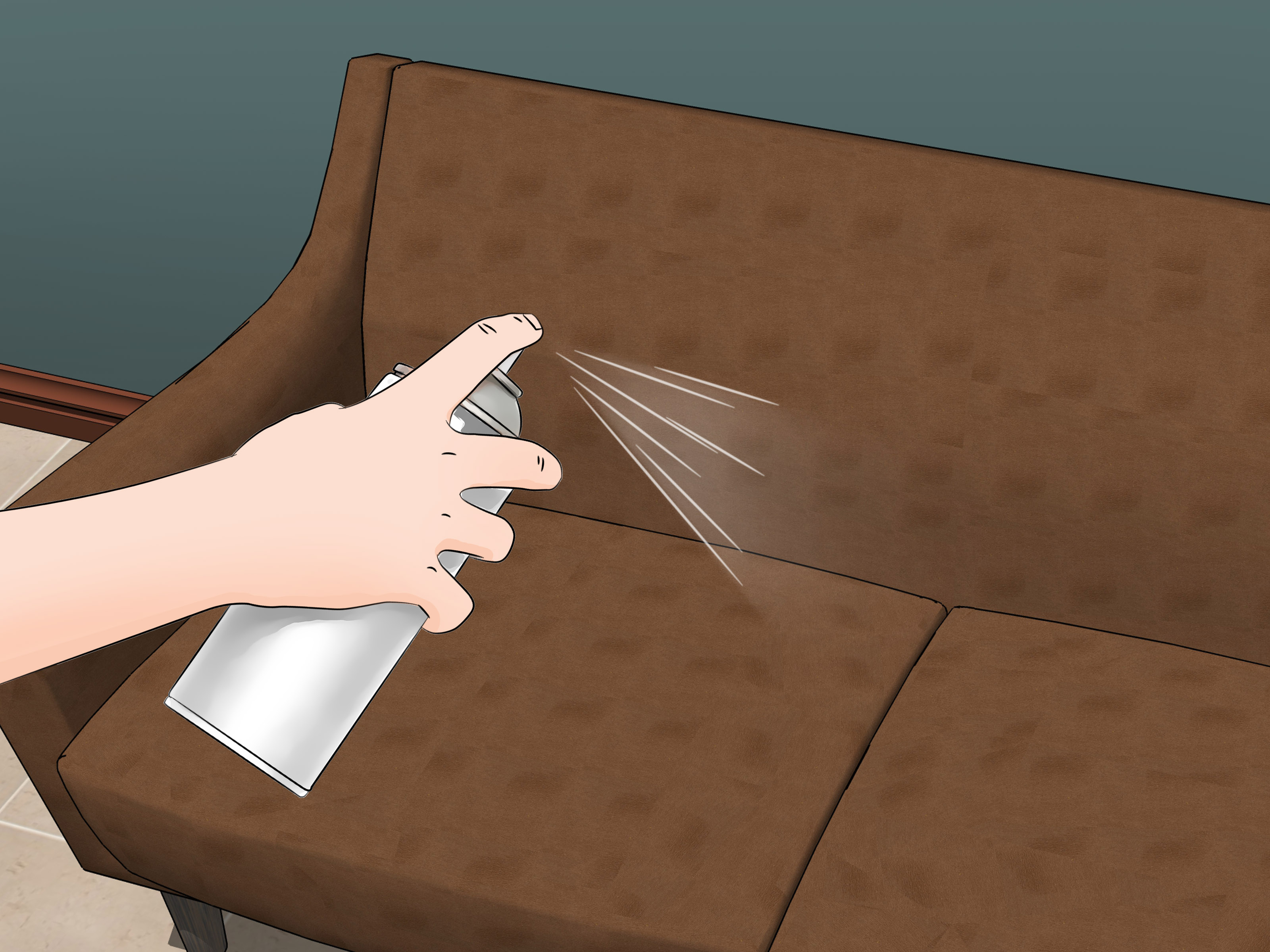 how to clean suede sofas at home laptop sofa table portable 3 ways furniture wikihow