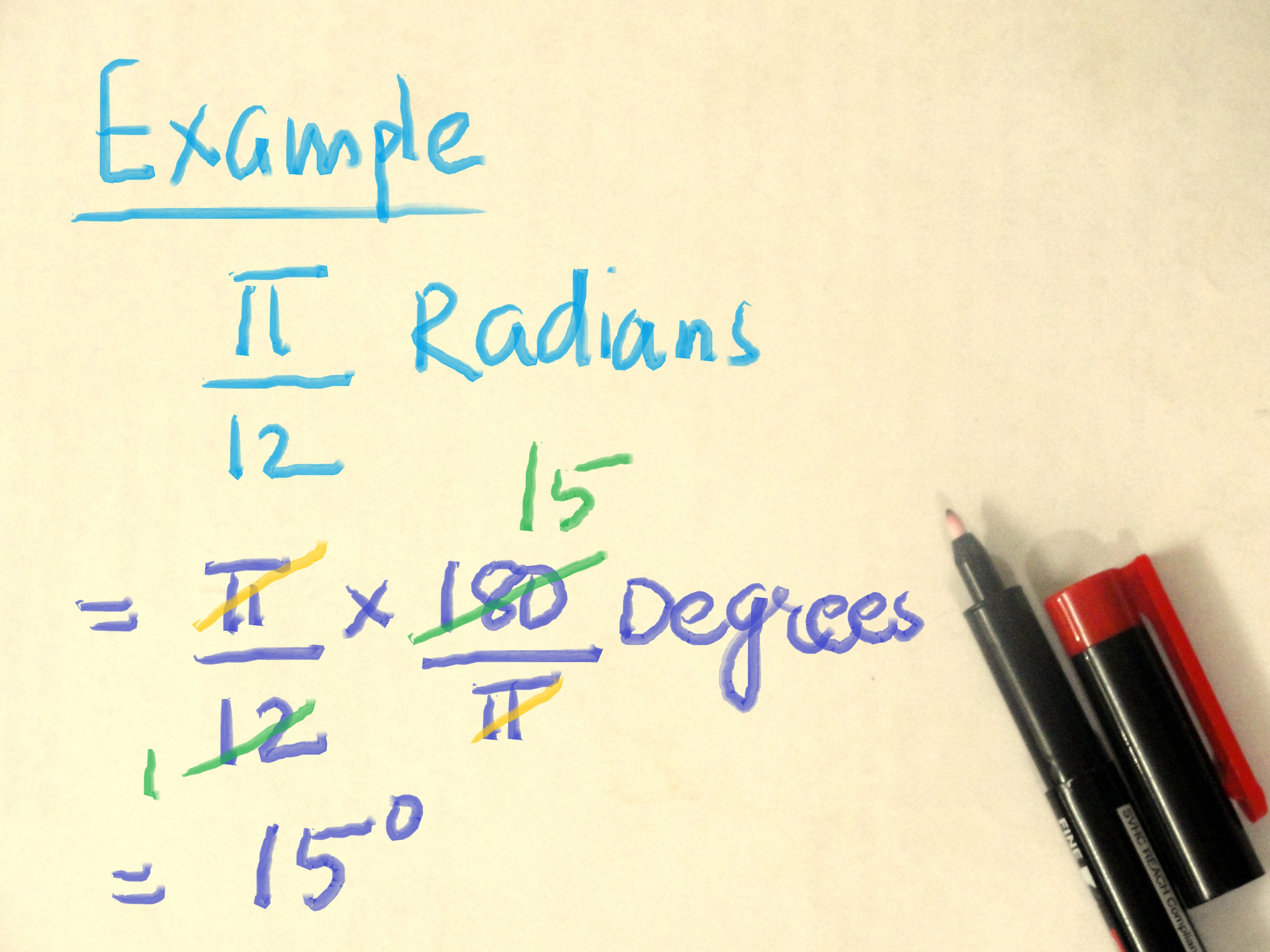 Ba Degree How To Convert Degrees To Radians