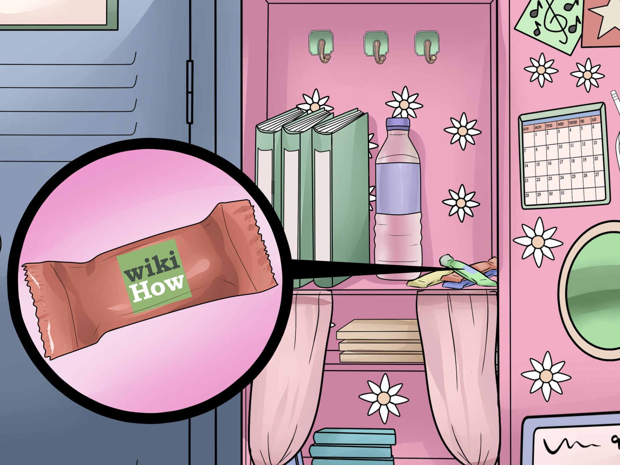 hight resolution of how to organize your locker in middle school girls