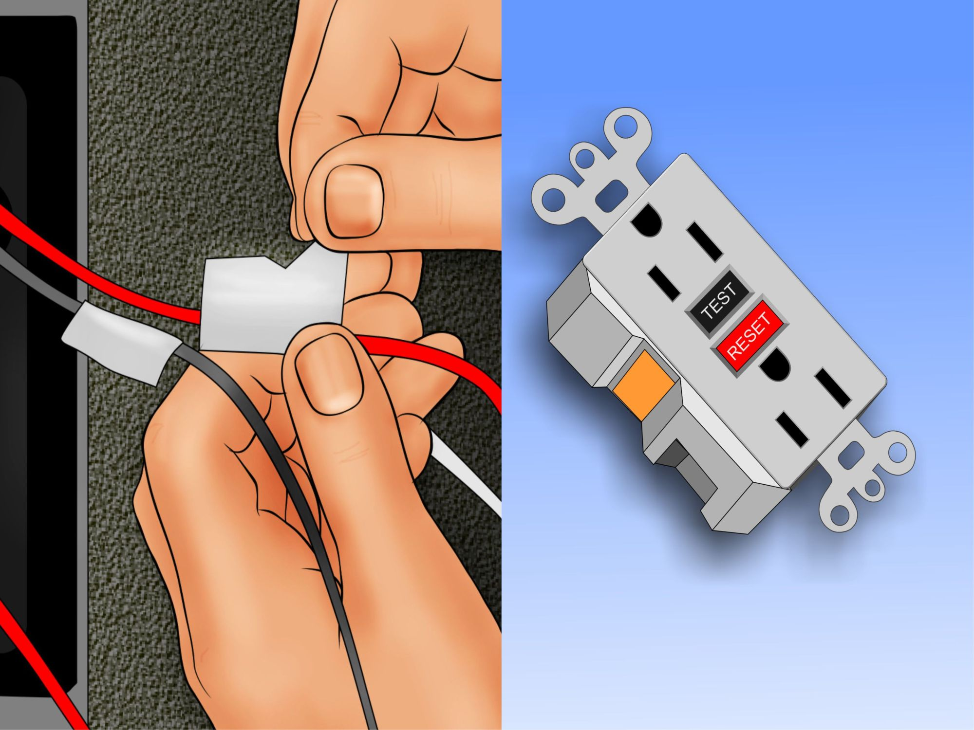 hight resolution of basic residential wiring outlet