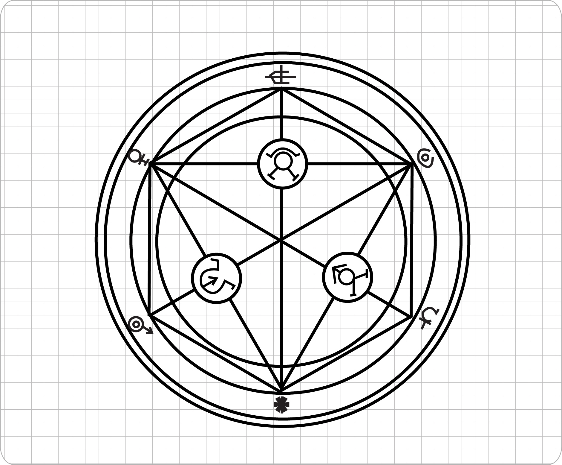 How to Draw a Transmutation Circle: 7 Steps (with Pictures)