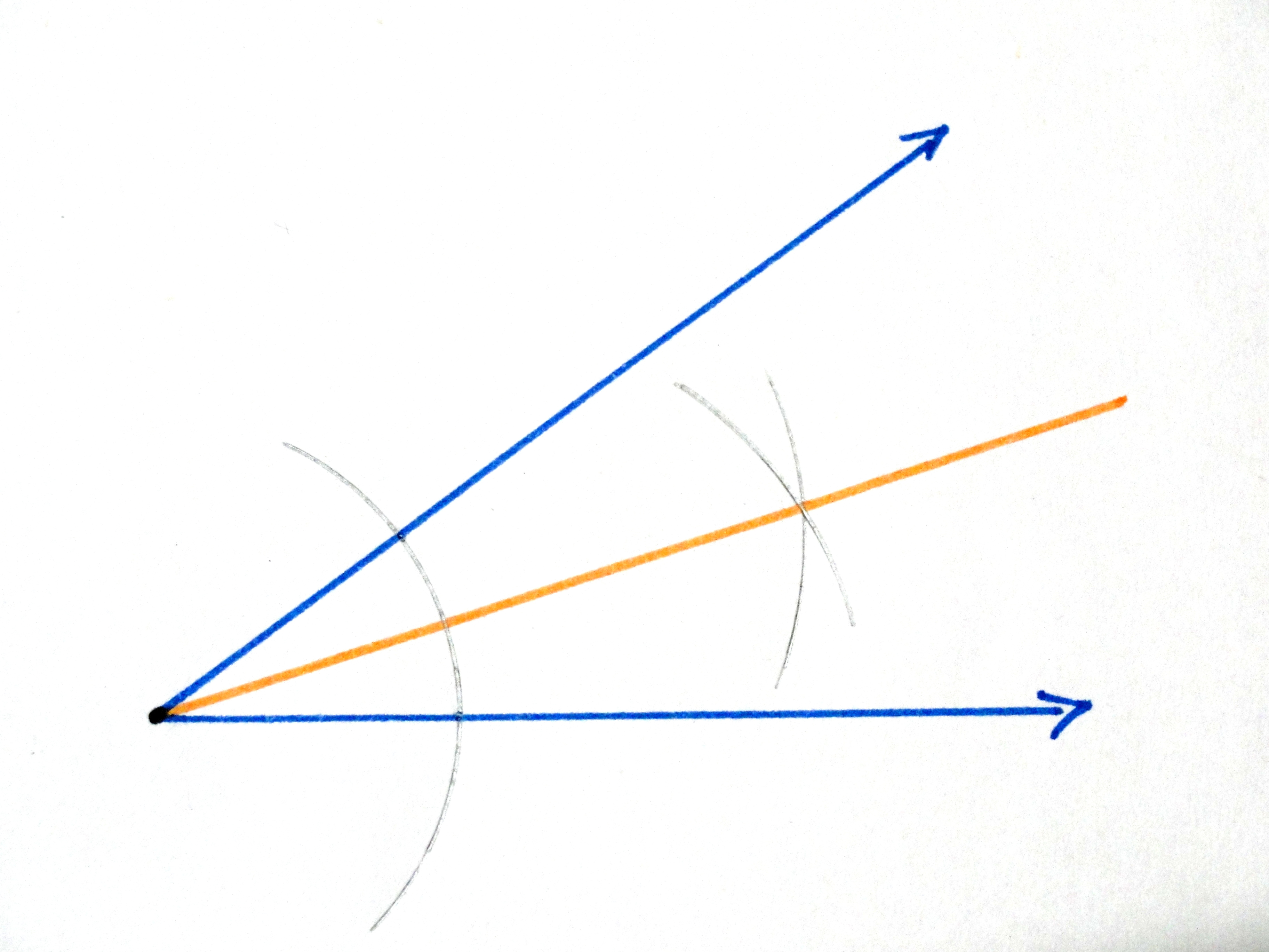 Construct Construct The Angle Bisector