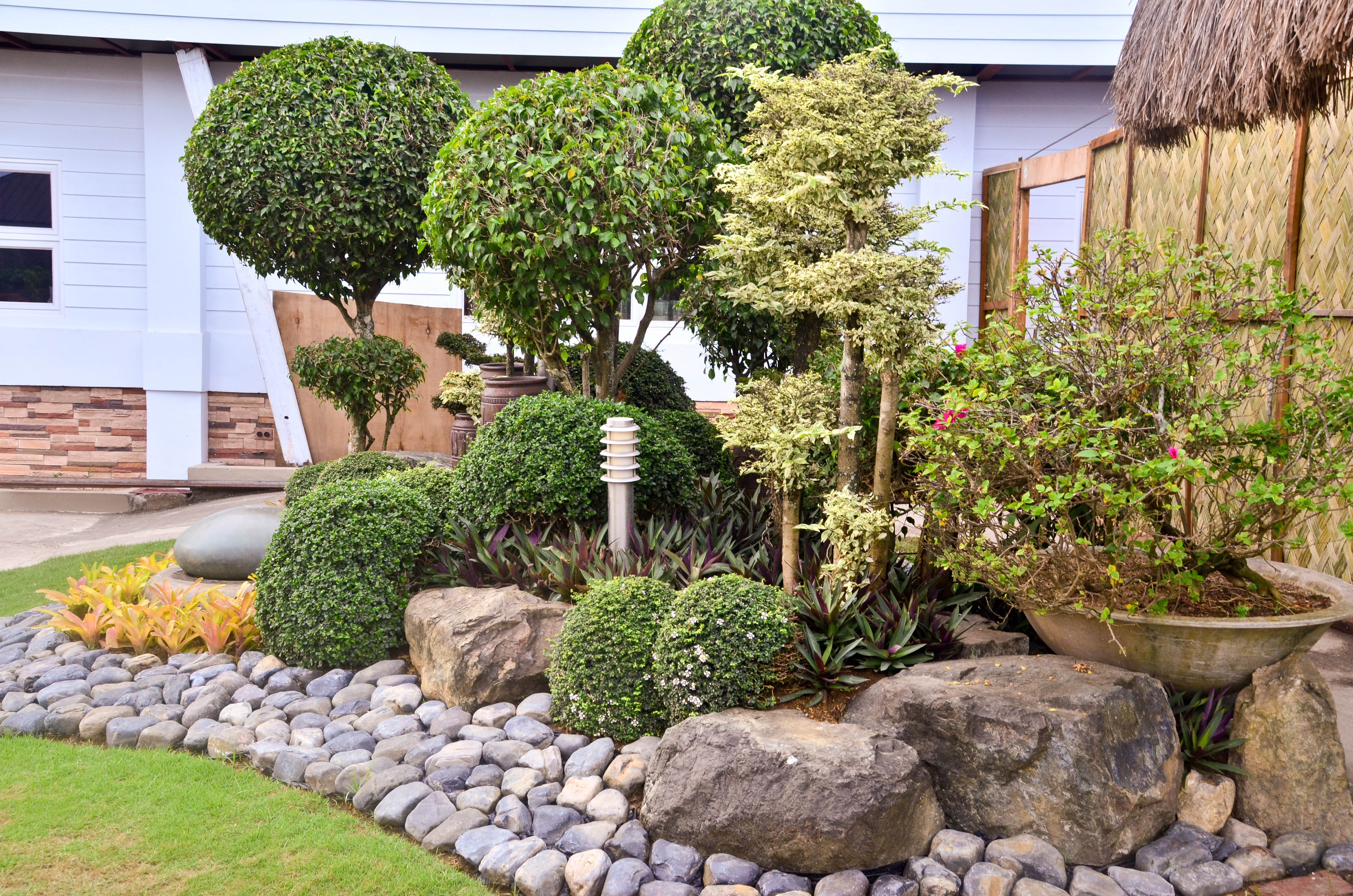 1 Landscaping How to Landscape With Rocks 6 Steps with