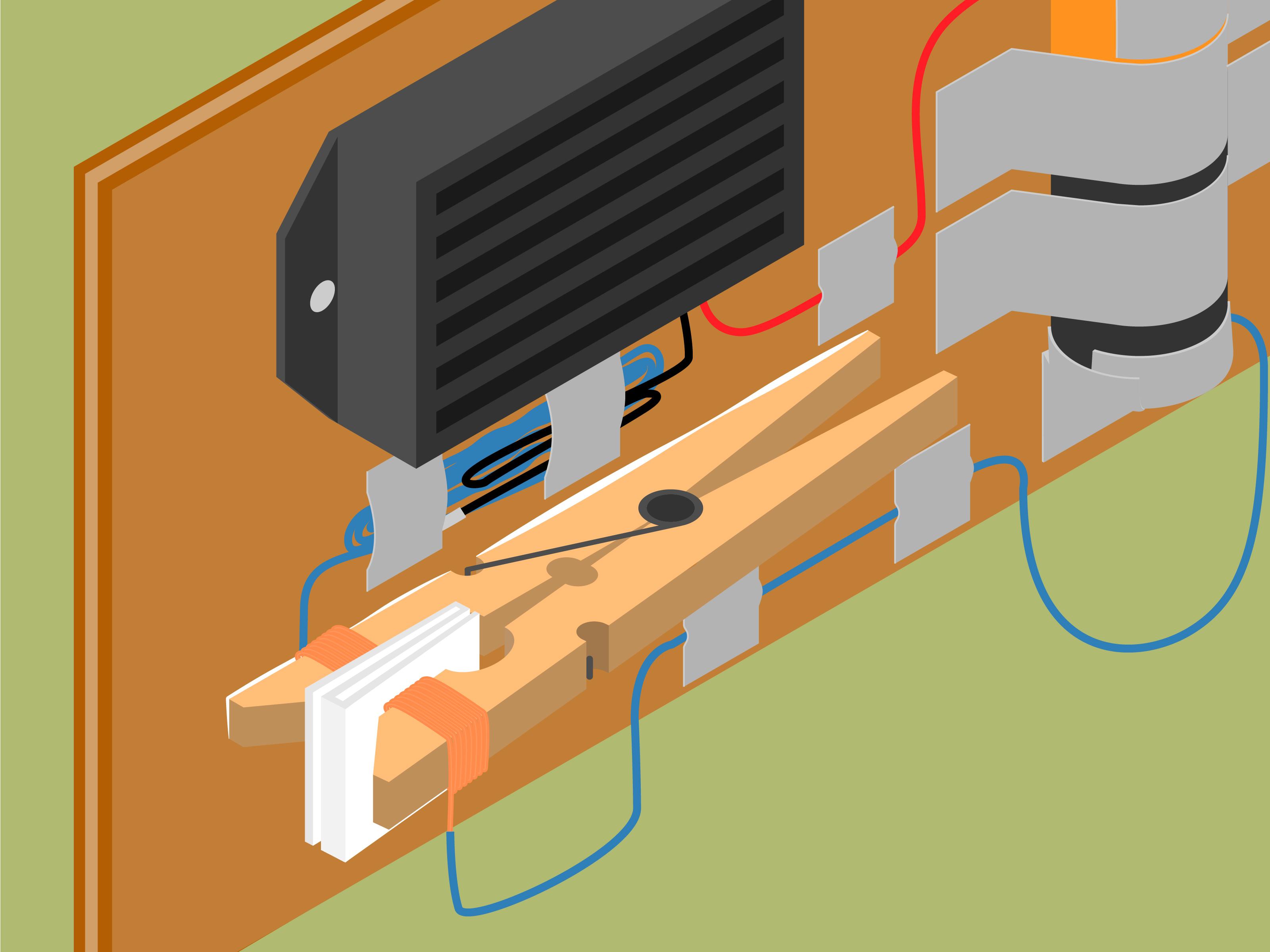Simple Door Alarm Circuit Circuitdb