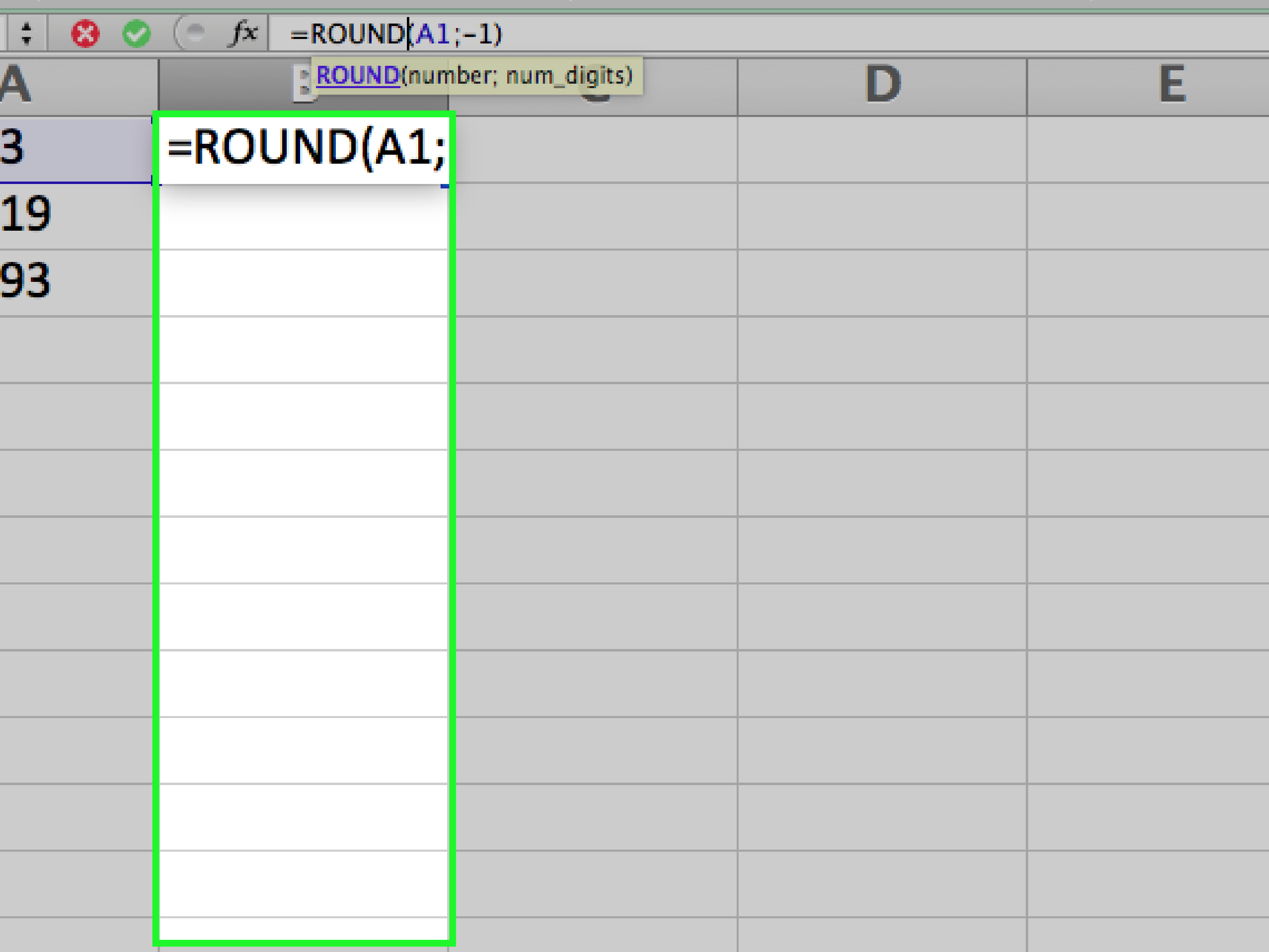 How To Round In Excel 14 Steps With Pictures