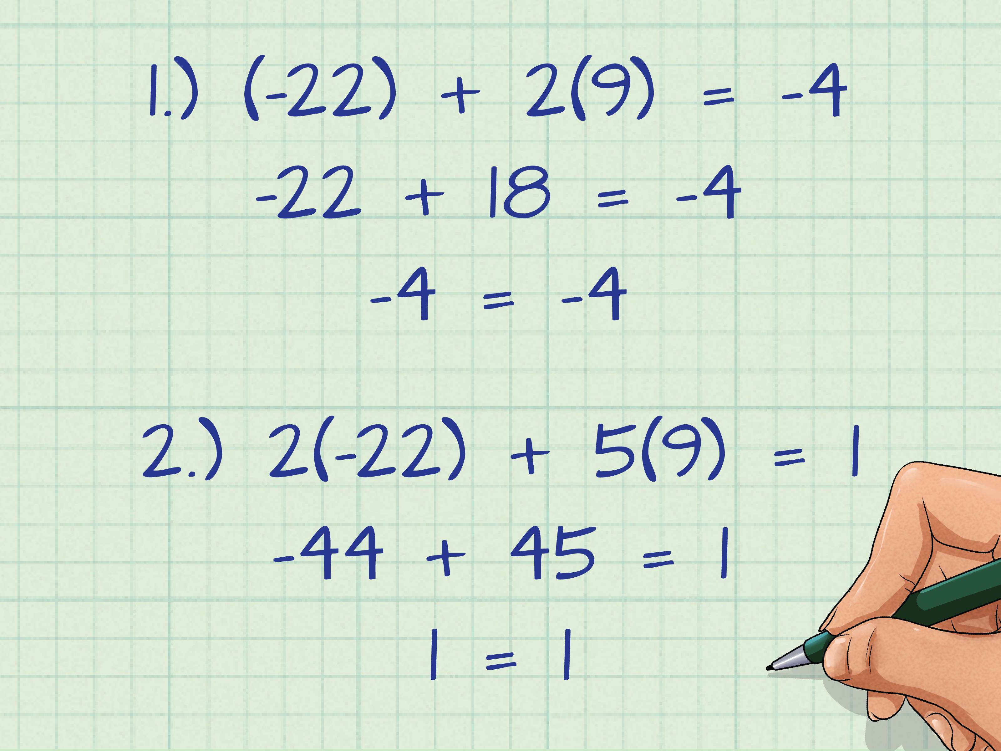 Solving 3 Simultaneous Equations With 4 Unknowns