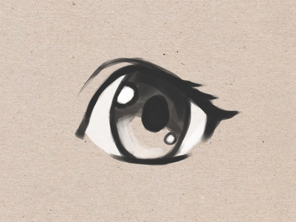 Draw Simple Anime Eyes 13 Steps - Wikihow