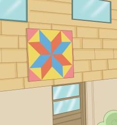 barn star diagram [ 3200 x 2400 Pixel ]