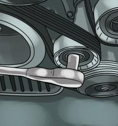how to quiet a noisy fan belt [ 3200 x 2400 Pixel ]