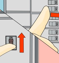 change a circuit breaker step 15 the best way to change a circuit breaker switch for old sylvania fuse box  [ 3200 x 2400 Pixel ]