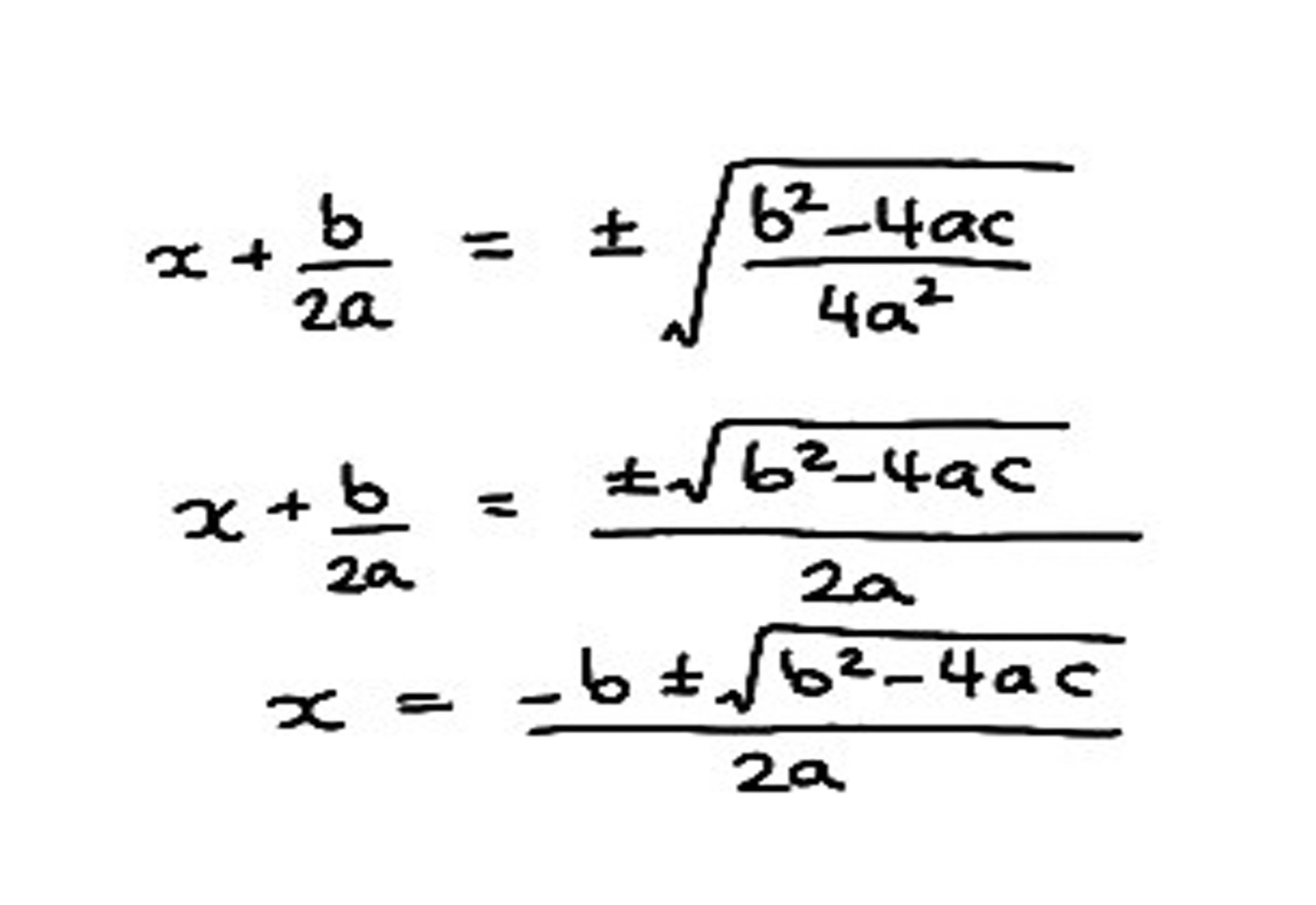 Solving Quadratic Simultaneous Equations Calculator