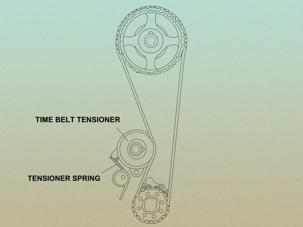 medium resolution of how to tell if a timing belt tensioner is bad