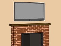 How to Hang a Plasma TV Over the Fireplace: 6 Steps
