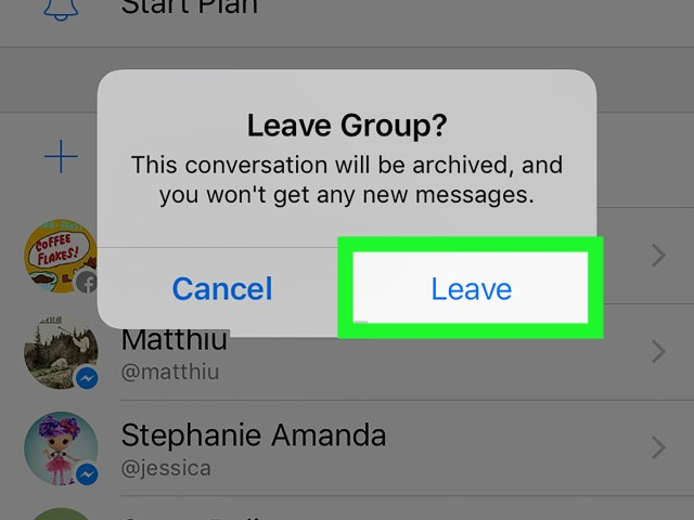 How to Leave a Group Chat on Facebook Messenger on iPhone or iPad
