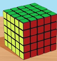 how to solve a 5x5x5 rubik s cube [ 3200 x 2400 Pixel ]