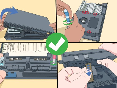small resolution of how to disassemble a playstation 2