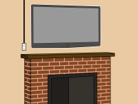How to Mount a Fireplace TV Bracket: 7 Steps (with Pictures)