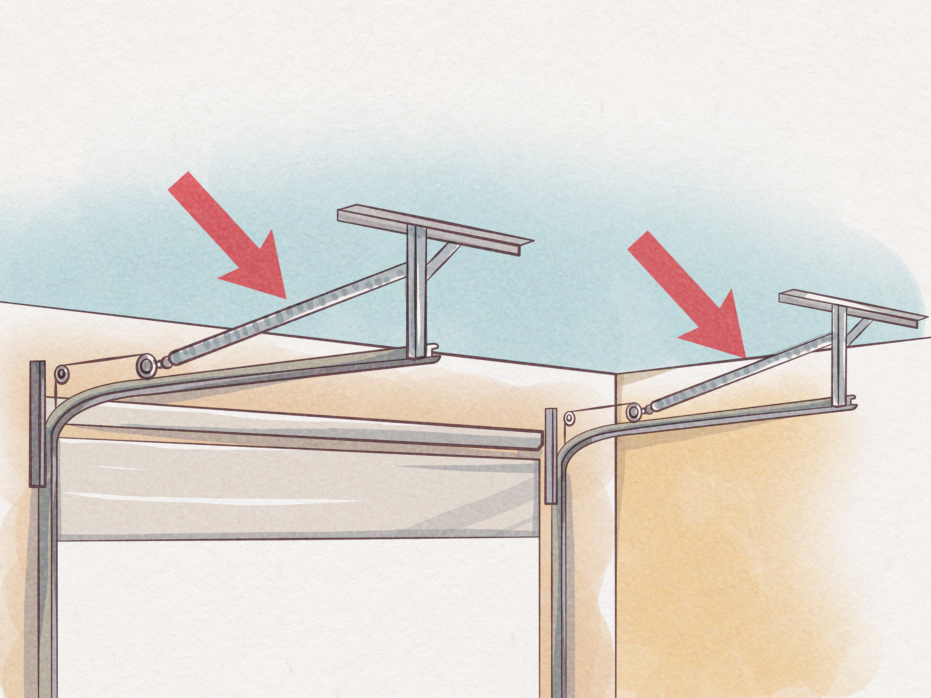 How to Replace a Garage Door with Pictures  wikiHow