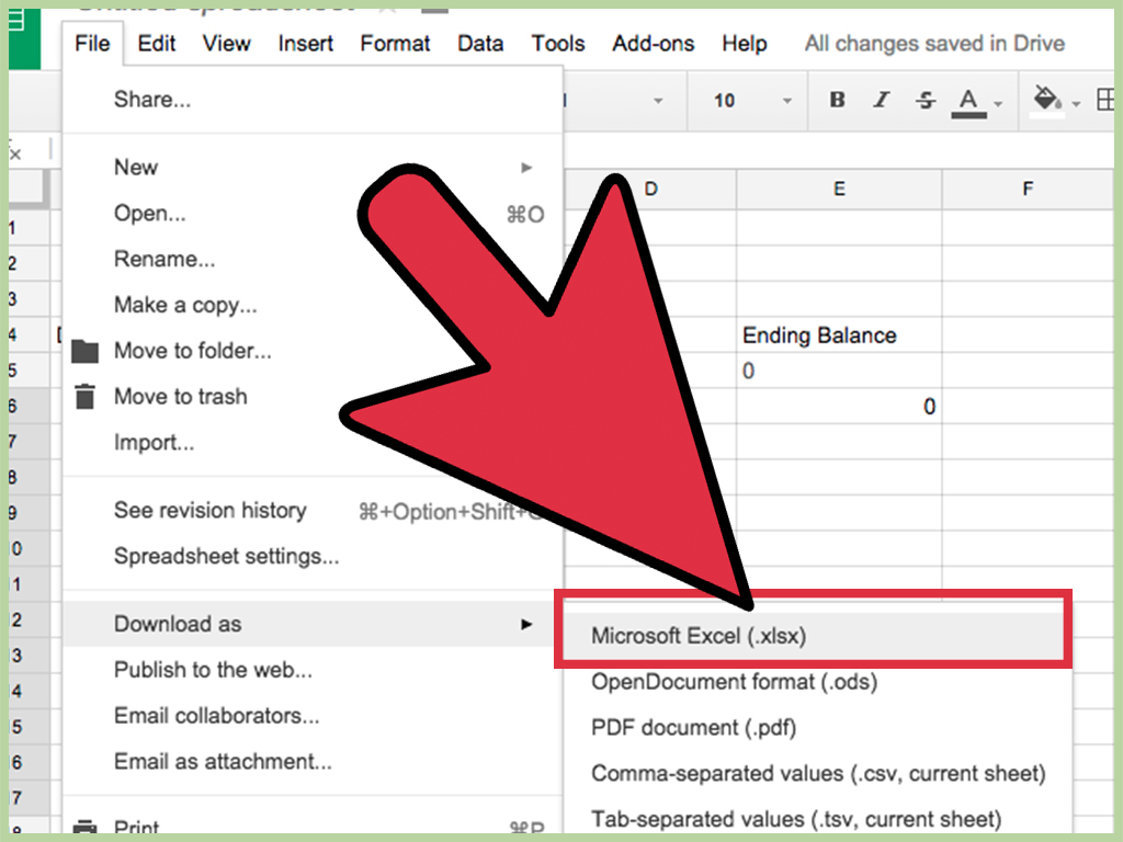 How To Create An Excel Spreadsheet Without Excel 12 Steps