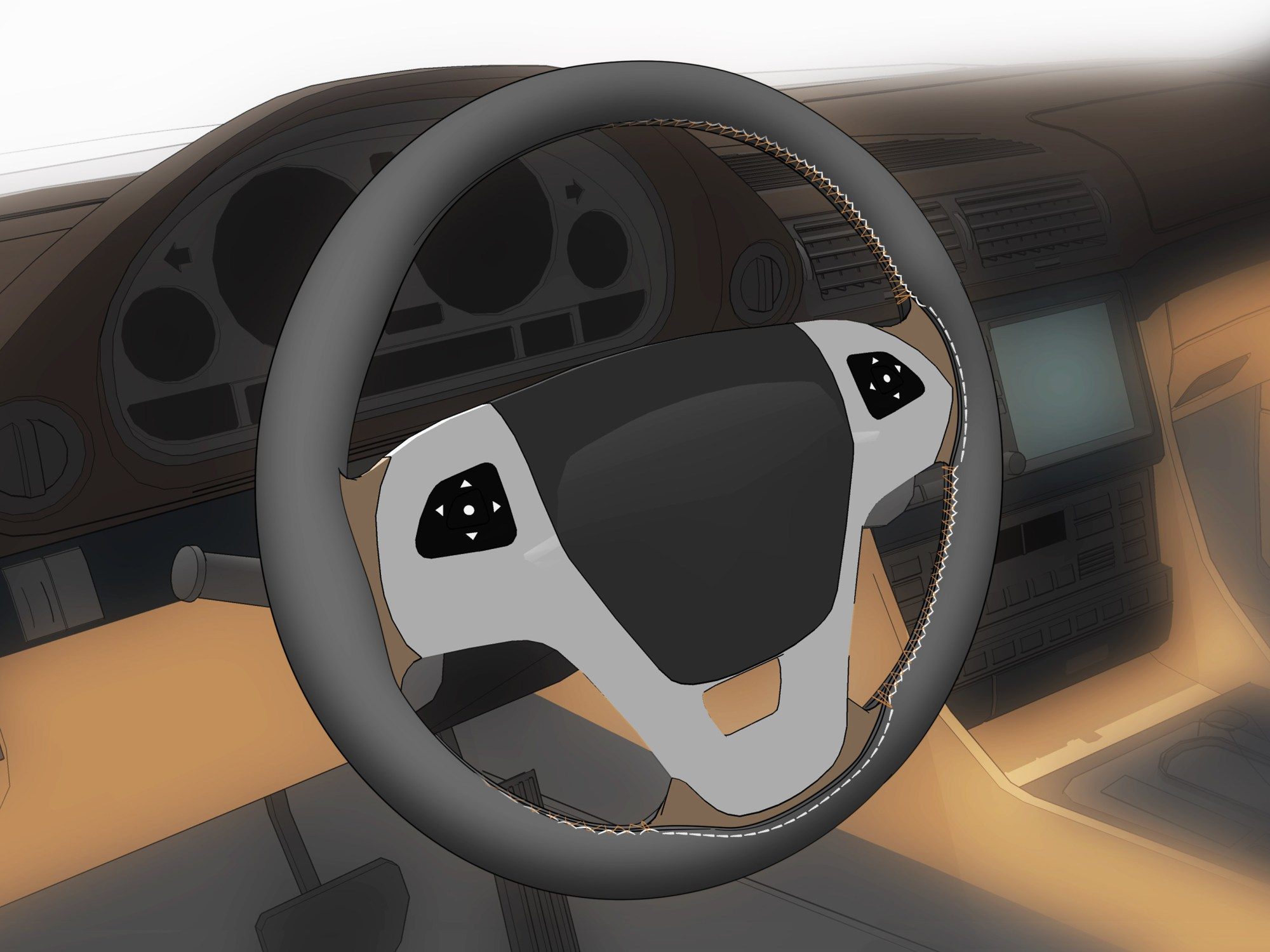 hight resolution of how to fit a steering wheel cover