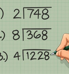How to Do Short Division - wikiHow [ 2400 x 3200 Pixel ]
