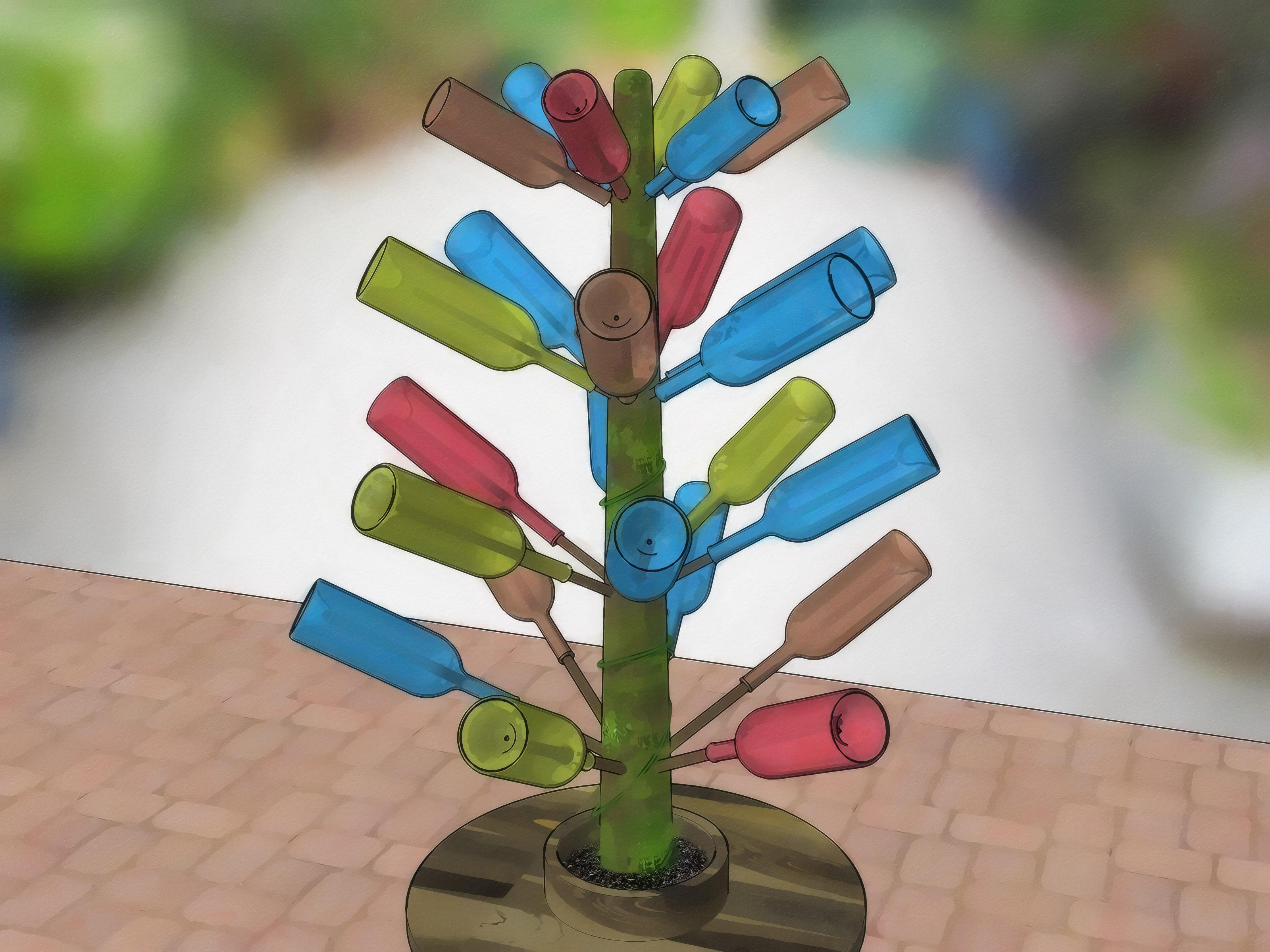 Einen Flaschenbaum Machen – Wikihow