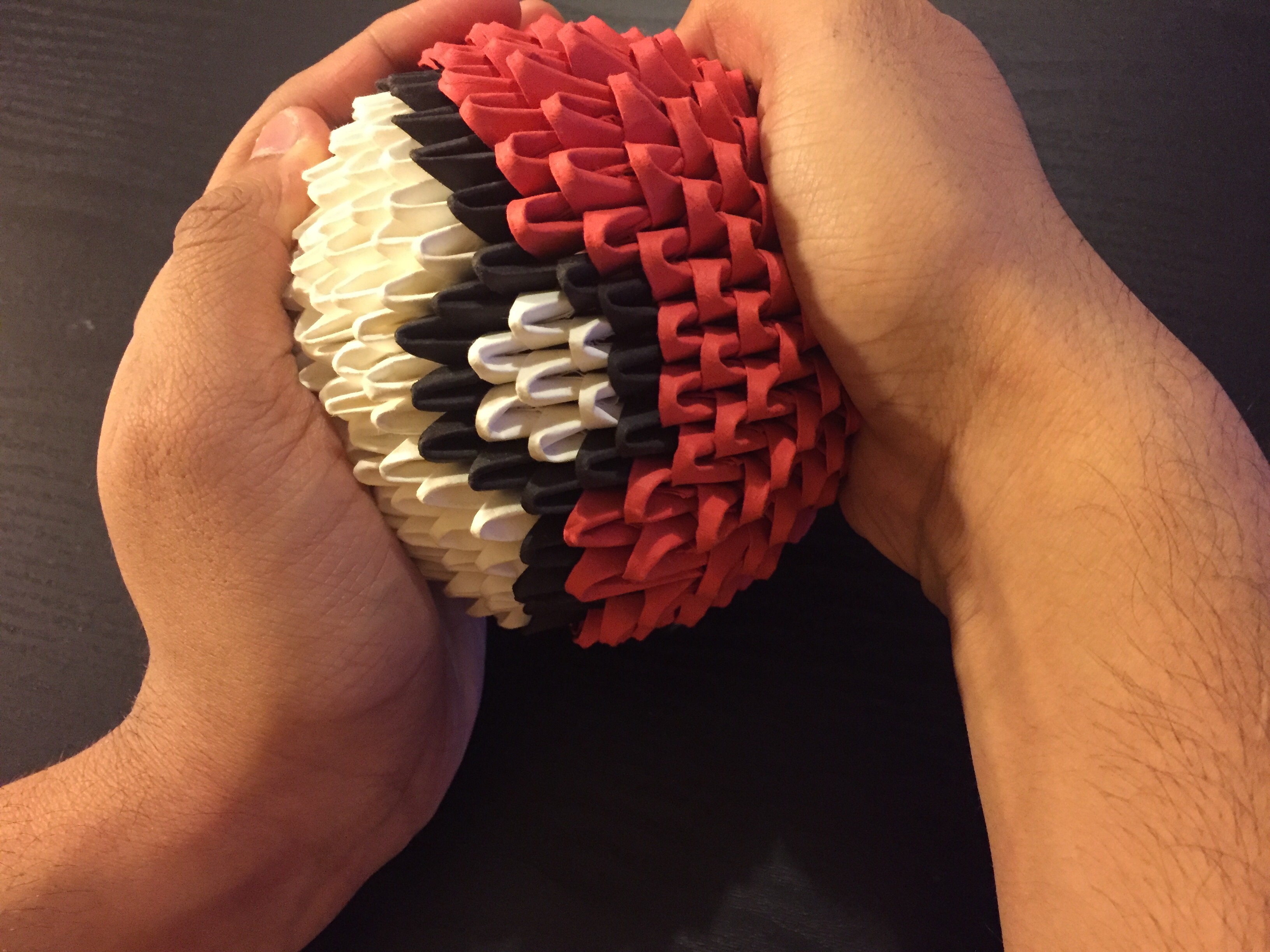 How to Make a 3D Origami Pokball with Pictures  wikiHow
