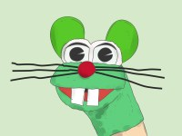 How to Make a Mouse Sock Puppet (with Pictures) - wikiHow