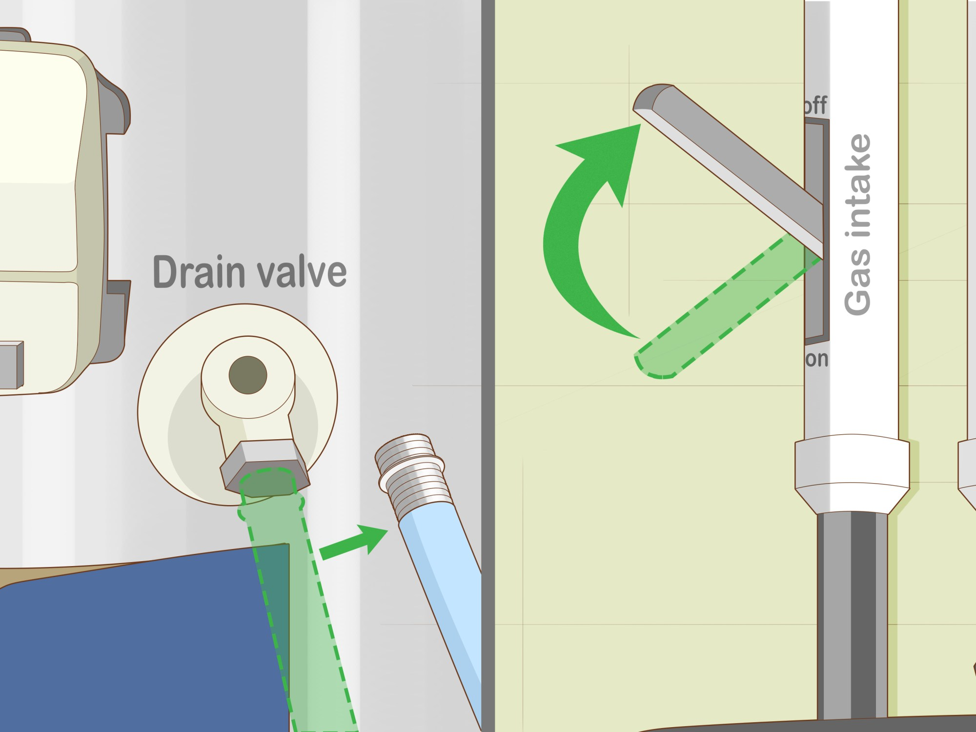 hight resolution of how to drain a water heater