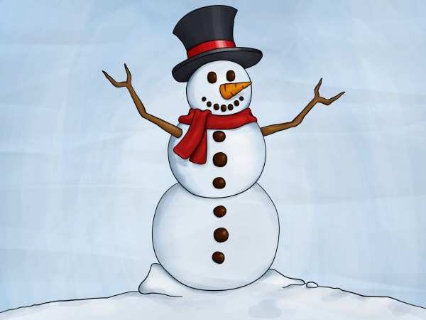 How to Draw a Snowman 8 Steps with Pictures wikiHow