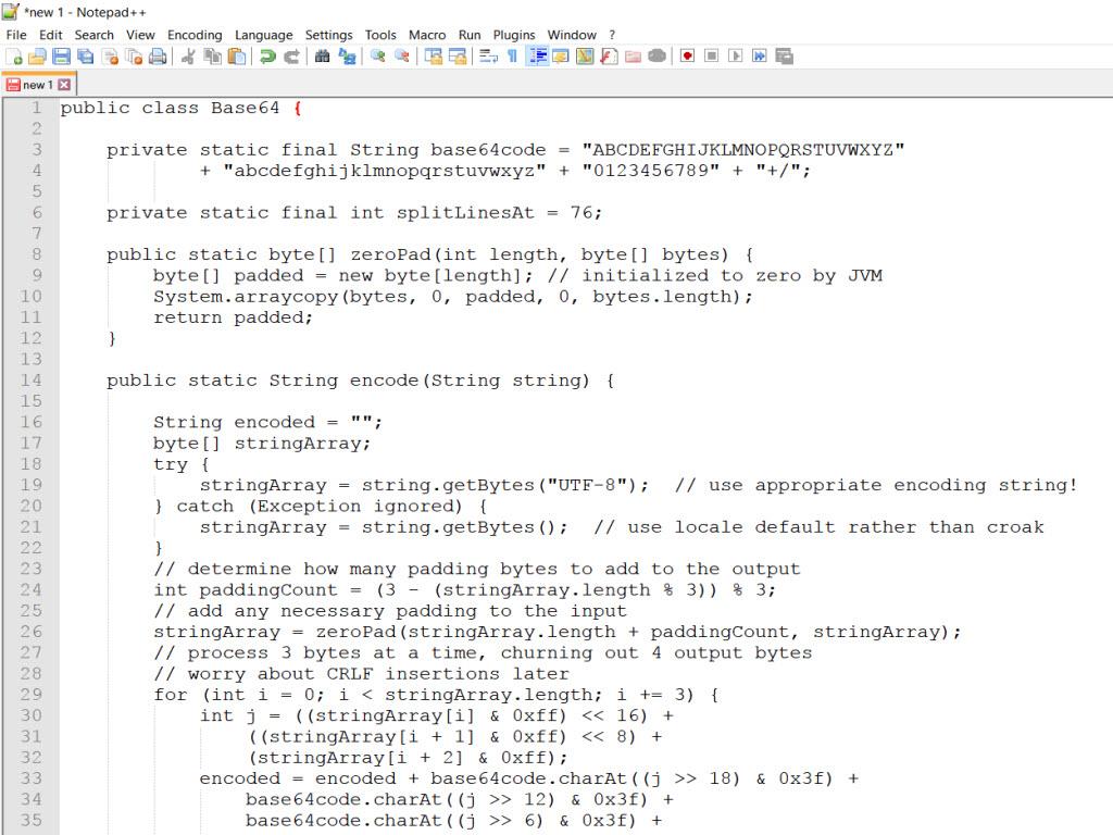 Base64 To File Java