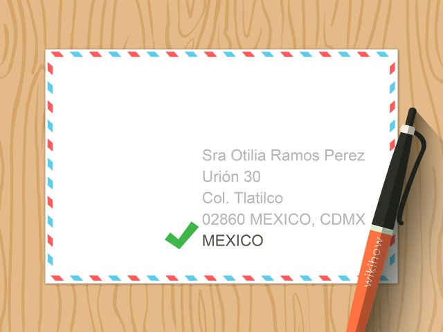 Simple Ways to Write an Address in Spanish: 22 Steps