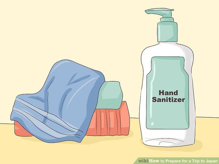 Bringen Sie ein Handtuch und Händedesinfektionsmittel mit.