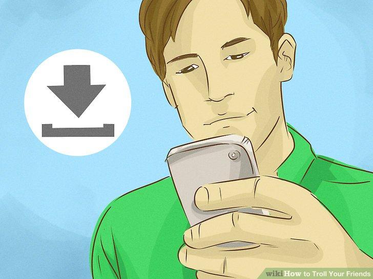 Fügen Sie die Motion-Furz-App zum Telefon Ihres Freundes hinzu.