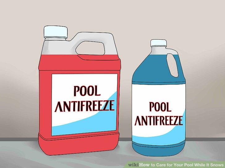 Poolfrostschutz verwenden.