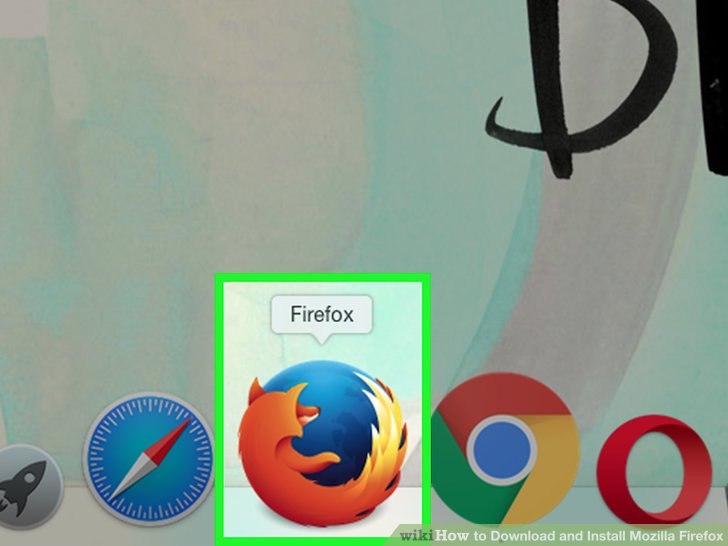 Put Firefox on the dock.