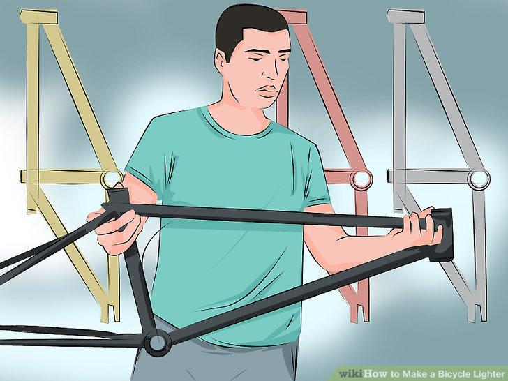 Holen Sie sich den leichtesten Rahmen, den Sie kaufen können, wenn Sie ein neues Fahrrad erhalten.