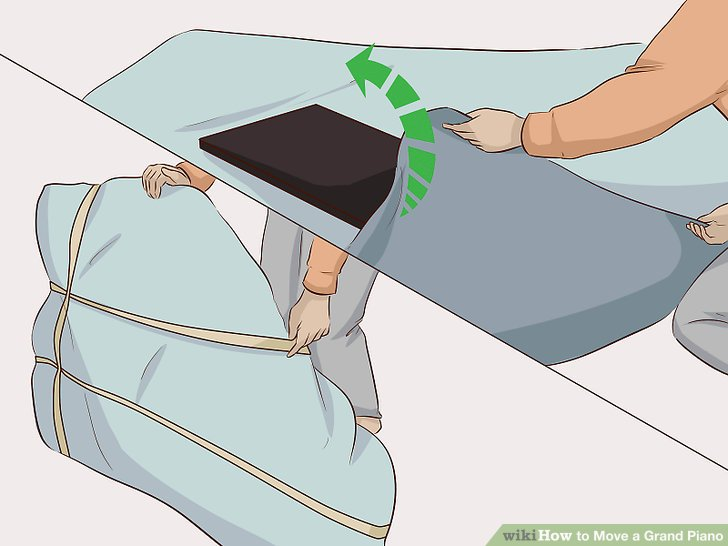 Wickeln Sie den Deckel mit 2 oder 3 beweglichen Pads.