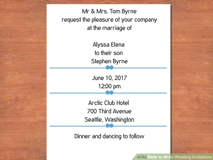 Image Led Write Wedding Invitations Step 3