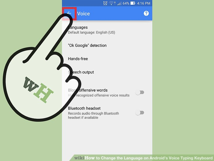 How to Change the Language on Android's Voice Typing