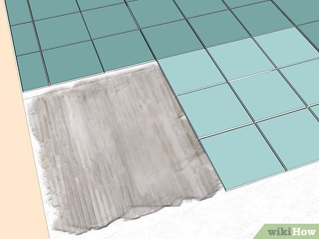 how to lay tile on concrete with