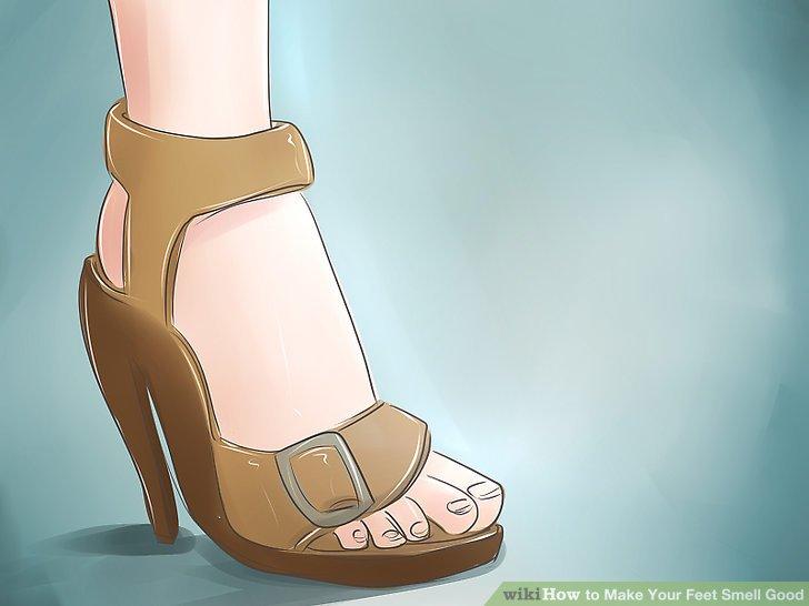 Tragen Sie im Sommer oder bei warmem Wetter Sandalen.