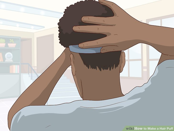 3 Ways To Make A Hair Puff Wikihow