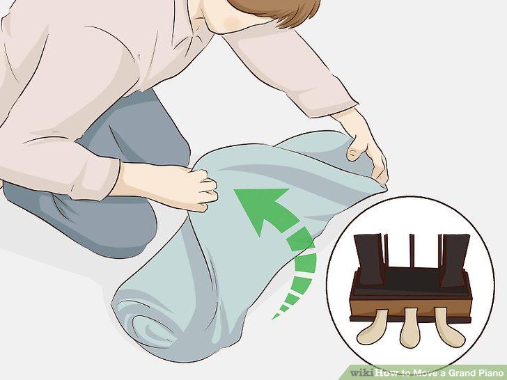 Wickeln Sie jedes Pedal separat mit Kunststoff- oder Luftpolsterfolie.