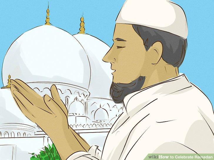 Besuchen Sie die Moschee zum Gebet.