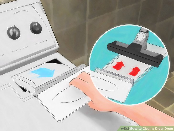 Wie ist es gemacht wie zu reinigen ein trockner trommel