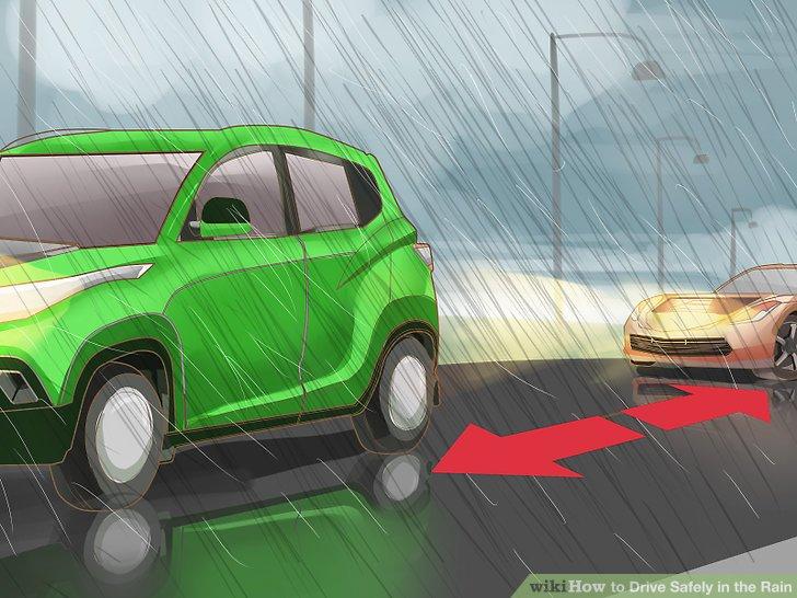 Bleiben Sie fünf Sekunden hinter dem Auto vor Ihnen.