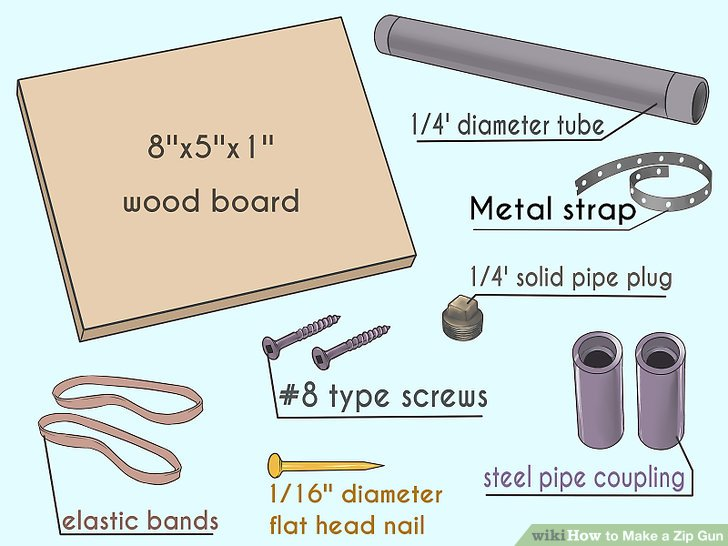 basic gun diagram home air conditioner thermostat wiring how to make a zip 12 steps with pictures wikihow image titled step 1